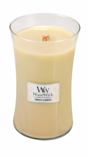 *Santa's Cookies WoodWick Candle 22 oz.