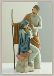 The Christmas Story Nativity Set by Willow Tree
