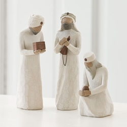 The Three Wisemen Nativity by Willow Tree