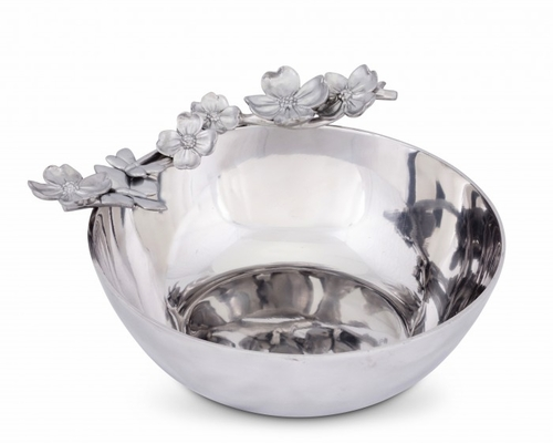 Dogwood Butterfly Serving Bowl by Arthur Court