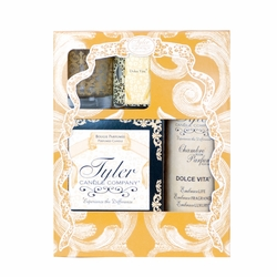 Dolce Vita Glamorous Gift Suite II by Tyler Candle Company | Glamorous Gift Sets by Tyler Candle Company