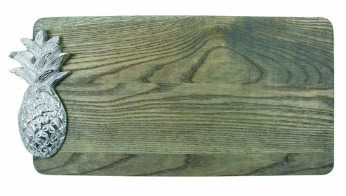 Driftwood Pineapple Ash Cheese Board by Mariposa