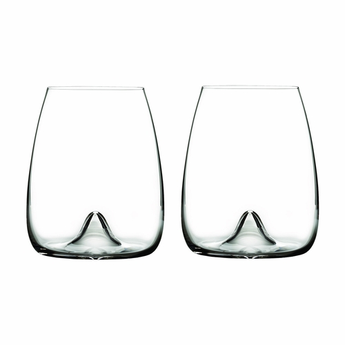 Elegance Stemless Wine Glass Pair by Waterford - Special Order
