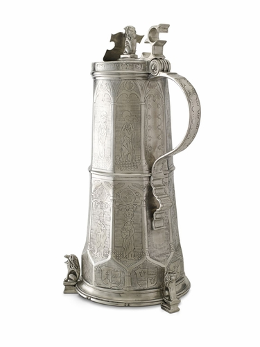 Engraved Beer Stein by Match Pewter