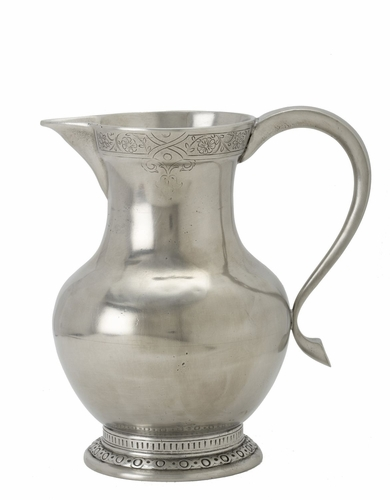 Engraved Pitcher by Match Pewter