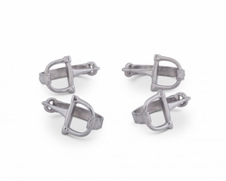 Equestrian Bit Napkin Rings by Arthur Court