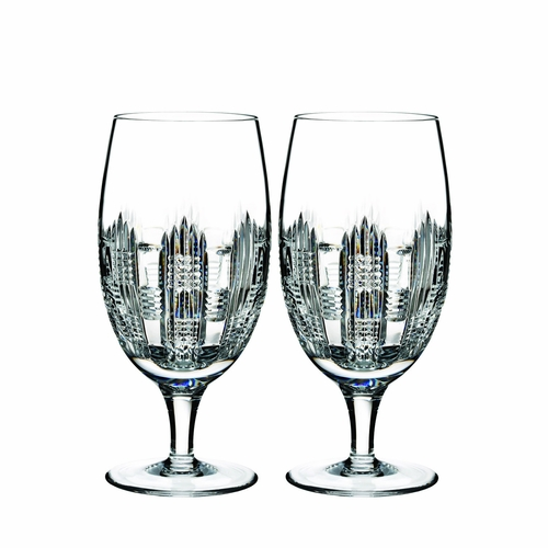 Essentially Dungarvan Iced Beverage Glass Pair by Waterford - Special Order