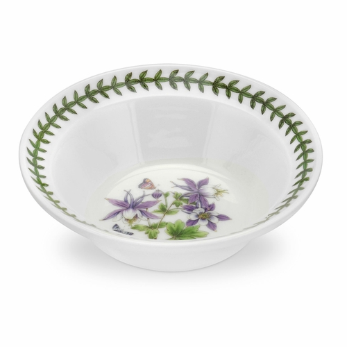 Exotic Botanic Garden Dragonfly Motif Set of 6 Oatmeal Bowls by Portmeirion