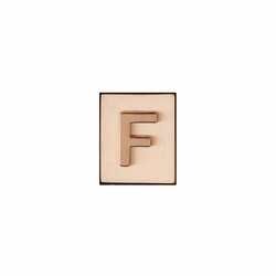 """F"" AKA Monogram Letter & Icon Spacer by Spartina 449"