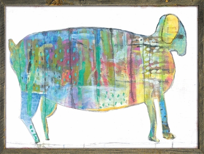 Fat Goat Art Print Collection by Sugarboo Designs