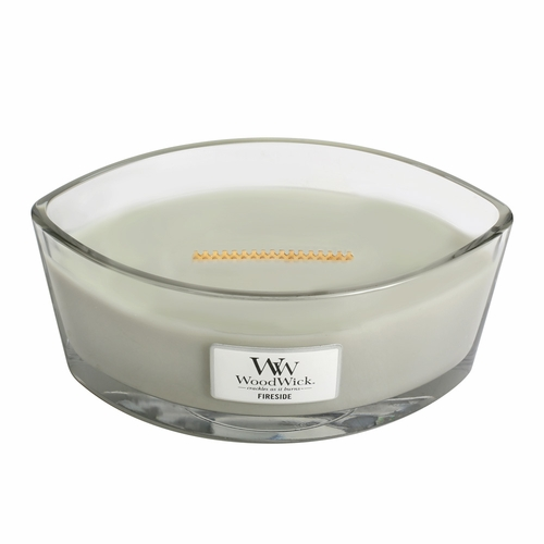 Fireside WoodWick Candle 16 oz. HearthWick Flame