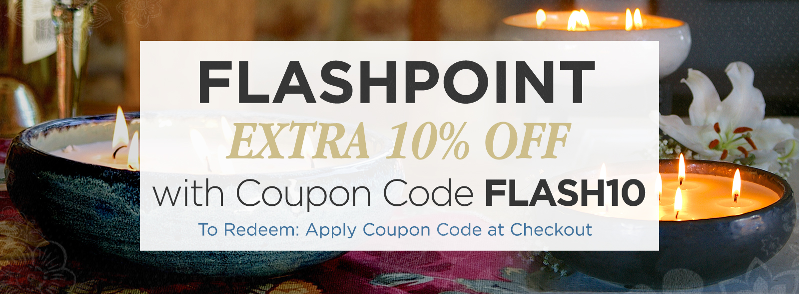 Flashpoint Candles