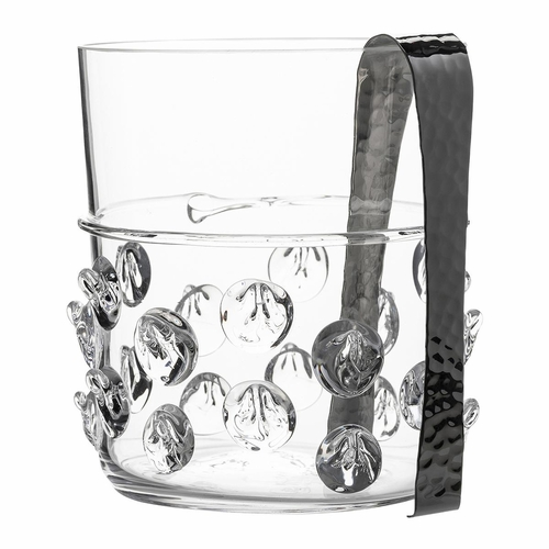 Florence Ice Bucket with Tongs by Juliska