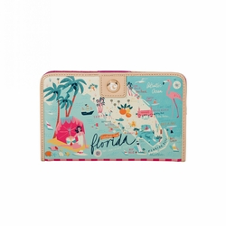Florida Snap Wallet - Oh So Witty by Spartina 449