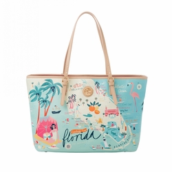 Florida Tote - Oh So Witty by Spartina 449