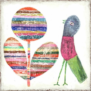 Flower And Bird Art Print Collection by Sugarboo Designs