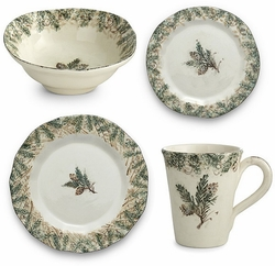 Foresta 4-Piece Place Setting - Arte Italica