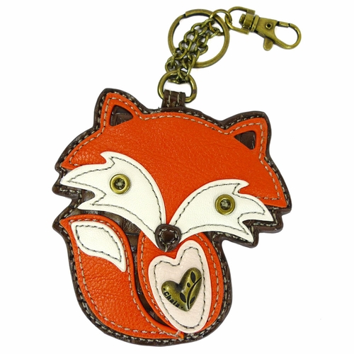 Fox Key Fob/Coin Purse