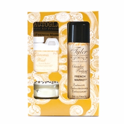 French Market Glamorous Gift Suite by Tyler Candle Company   Glamorous Gift Sets by Tyler Candle Company