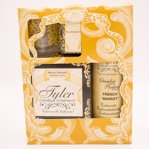 French Market Glamorous Gift Suite II by Tyler Candle Company