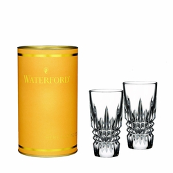 Giftology Lismore Diamond Shot Glass Pair by Waterford - Special Order