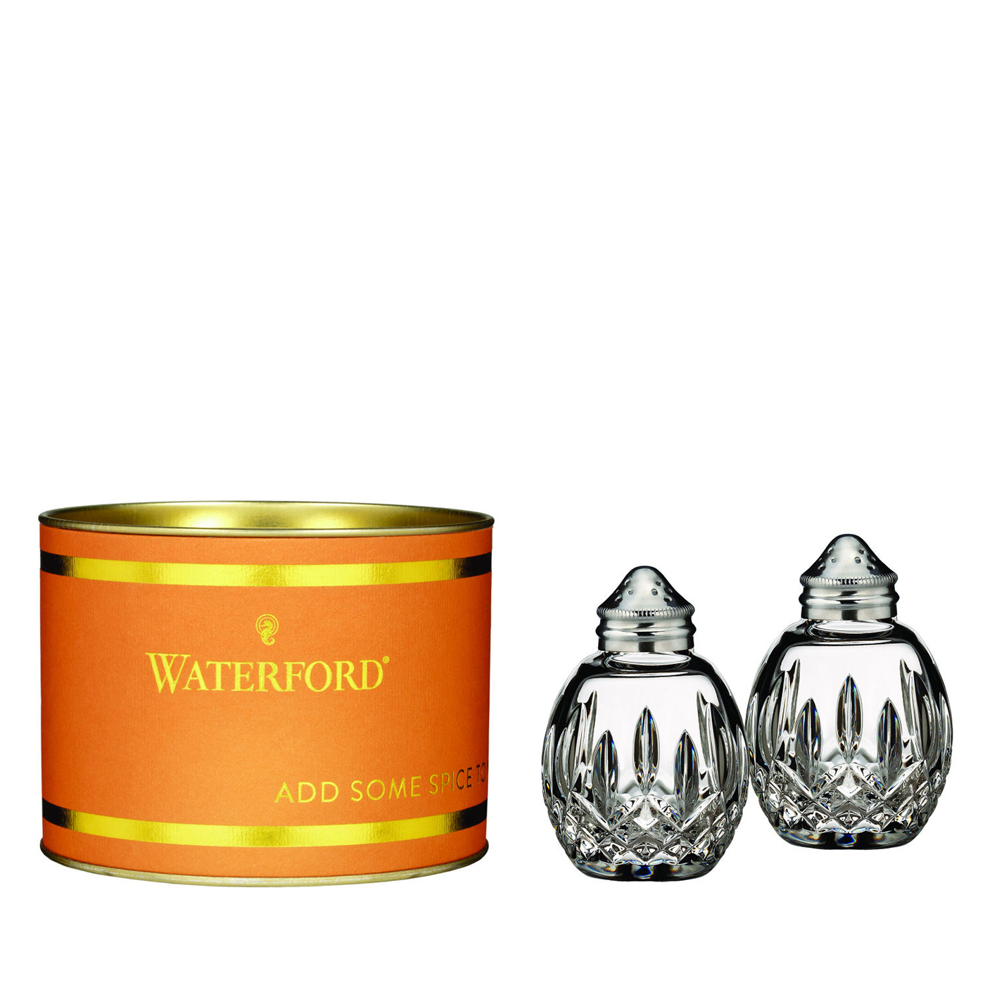Salt Lamps Waterford : Giftology Lismore Round Salt & Pepper Set by Waterford