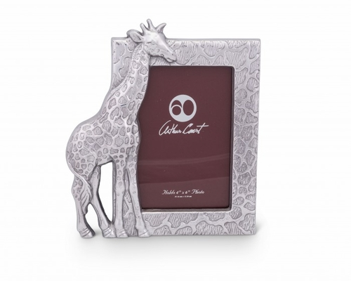 Giraffe Photo Frame by Arthur Court