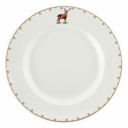 Glen Lodge Set of 4 Stag Dinner Plates by Spode