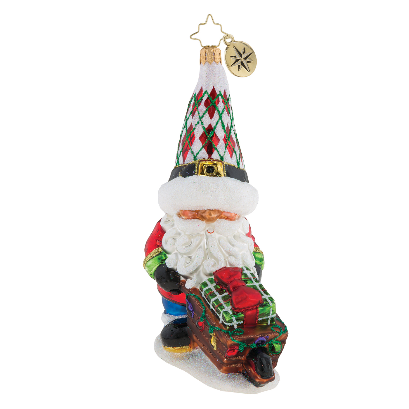 Gnome Matter What Ornament By Christopher Radko