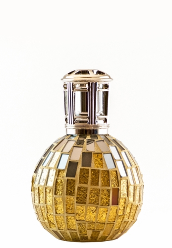 Gold and Mirrors Fragrance Lamp by Sophia's