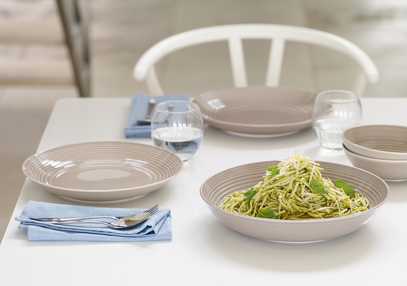 PRE-ORDER - Gordon Ramsay Maze Taupe Dinner Plate by Royal Doulton