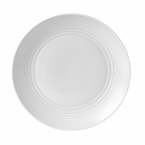 Gordon Ramsay Maze White Dinner Plate by Royal Doulton - Available January 2020