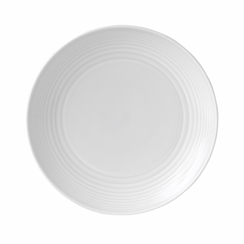 Gordon Ramsay Maze White Salad Plate by Royal Doulton - Special Order