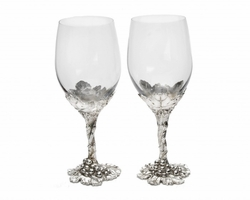 Grape Wine Glasses by Arthur Court