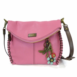 Guava Dragonfly Charming Crossbody