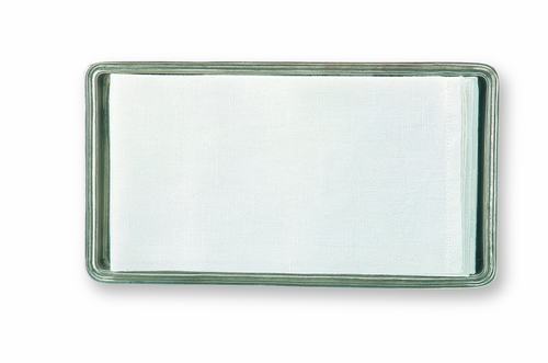 Guest Towel Tray by Match Pewter