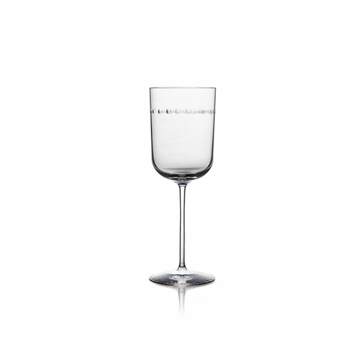 Hammertone Wine Glass by Michael Aram