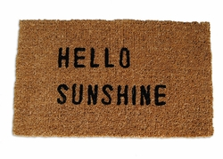 Hello Sunshine Door Mat by Sugarboo Designs
