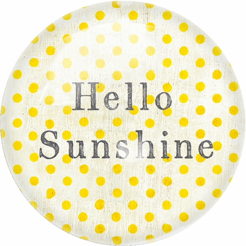 Hello Sunshine Paper Weight (Set of 2) by Sugarboo Designs