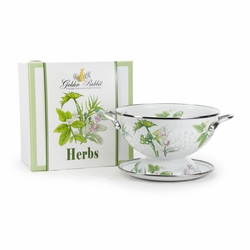 Herb Colander Gift Set by Golden Rabbit
