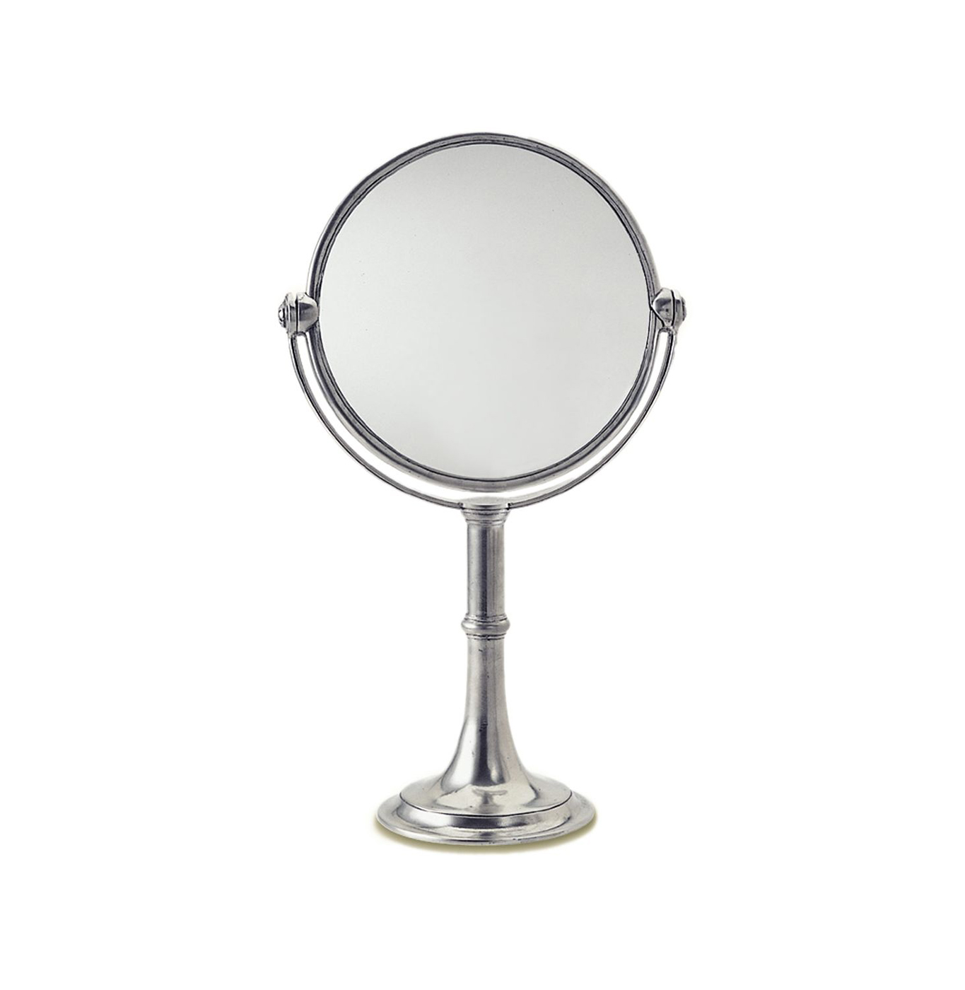 Matching Vanity Light And Mirror : High Vanity Mirror by Match Pewter