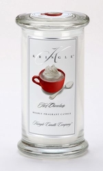 Hot Chocolate Large Apothecary Jar Kringle Candle | Large Apothecary Jar Kringle Candles