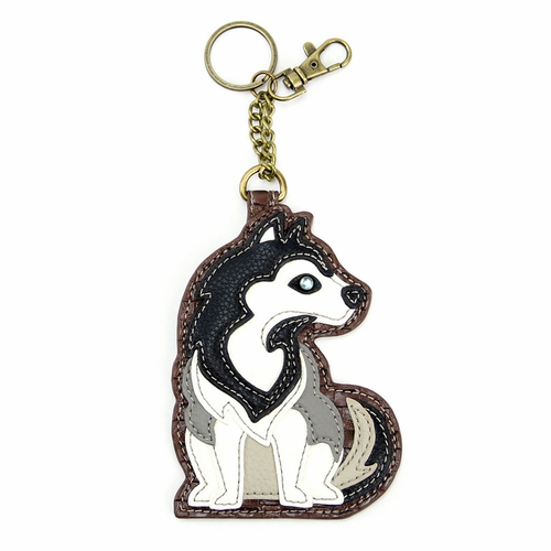Husky Key Fob/Coin Purse
