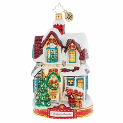 I'll Be Home For Christmas Ornament by Christopher Radko