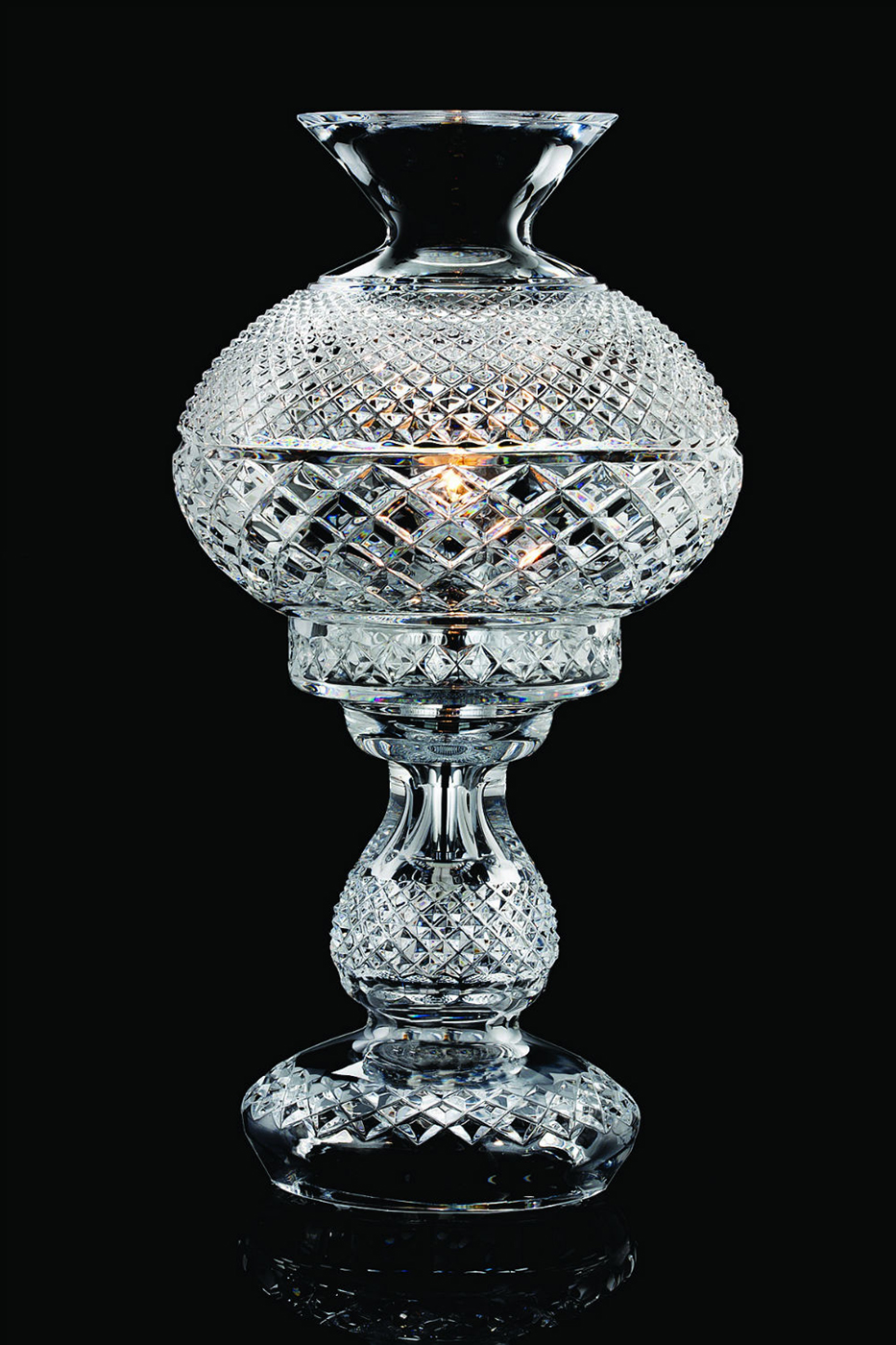 Inishmaan 14 Quot All Crystal Lamp By Waterford