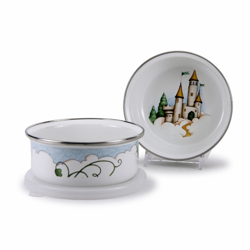 Jack Child Bowl with Lid by Golden Rabbit