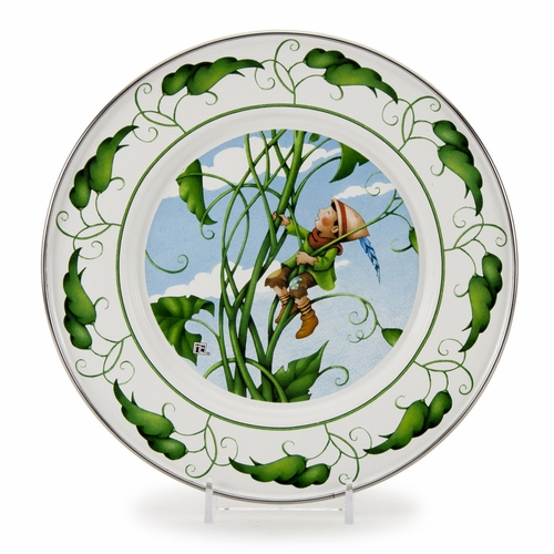 Jack Child Plate by Golden Rabbit