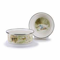 Jemima Puddle-Duck Child Bowl with Lid by Golden Rabbit