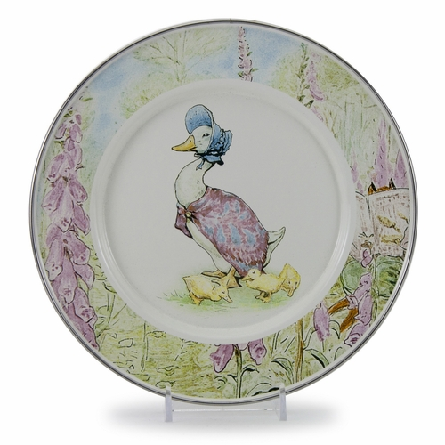 Jemima Puddle-Duck Child Plate by Golden Rabbit