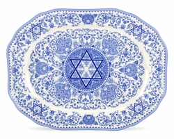Judaica Oval Platter by Spode